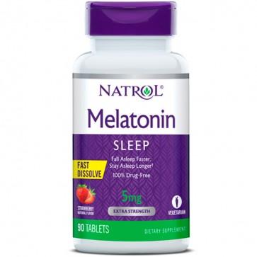 Melatonina 5mg F/D (90 tabs) - Natrol Natrol