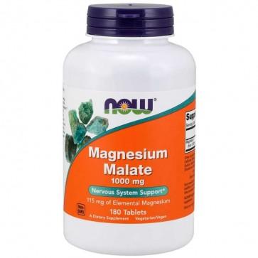 Magnesium Malate 1000mg (180 tabletes) - Now Foods