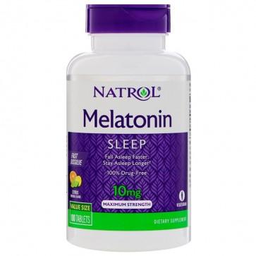 Melatonina 10mg (100 tabletes) - Natrol