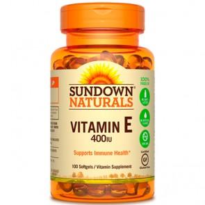 Vitamina E 400UI (100 Softgels) - Sundown