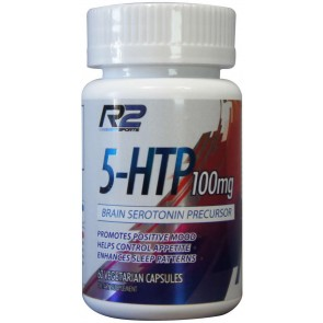 5-HTP 100mg (60 cápsulas) - R2 Research Labs