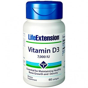 Vitamina D3 7000 IU (60 softgels) - Life Extension