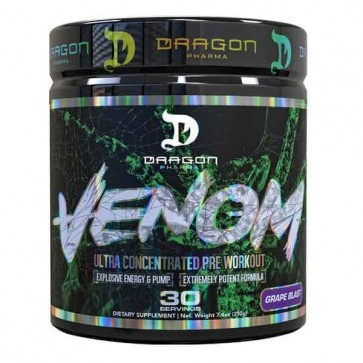 VENOM - Pre-Treino Ultra Concentrado - Dragon Pharma