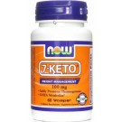 7-Keto 100mg (60 cápsulas) - Now Foods