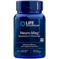 Neuro-Mag Magnesium L-Threonate (90 cápsulas) - Life Extension