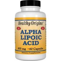 Alpha Lipoic Acid 600 mg, 60 Capsules Healthy Origins