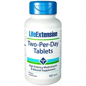 Two-Per-Day (120 tabletes) - Life Extension