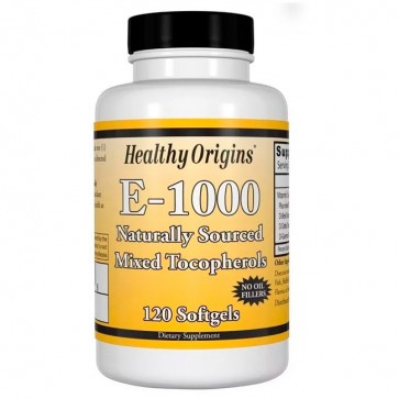Vitamina E 1000 (120 softgels) - Healthy Origins Healthy Origins