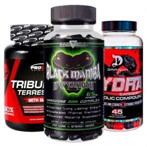 Combo: Tribulus - Pro Size + Black Mamba + Hydra
