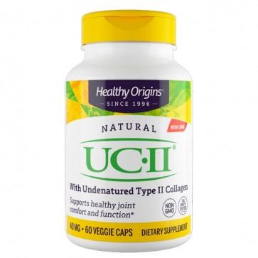 UC II 40mg (60 caps) - Healthy Origins Healthy Origins