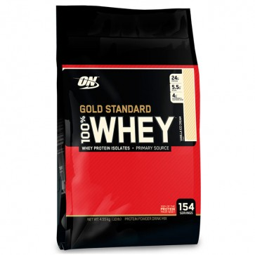 100% Whey Gold Standard 10lbs (4.5kg) - Optimum Nutrition Optimum Nutrition