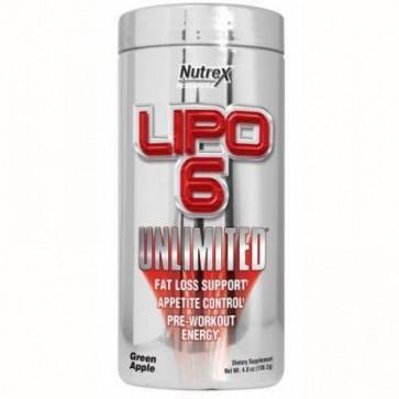 Lipo 6 Unlimited em Pó - Nutrex - Green Apple