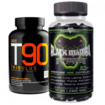 Combo: Black Mamba + T90 Tribulus Innovative Bio Lab