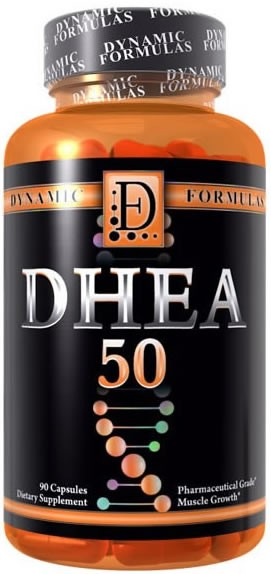 DHEA 50mg ( 90 cápsulas ) - Dynamic Formulas