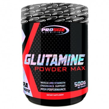 Glutamina Powder Max (500g) - Pro Size Nutrition Pro Size Nutrition