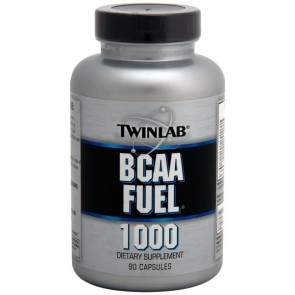 BCAA Fuel 1000mg (90 cápsulas) - Twinlab