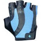 Luva Women's Pro (Preto com Azul) - Harbinger