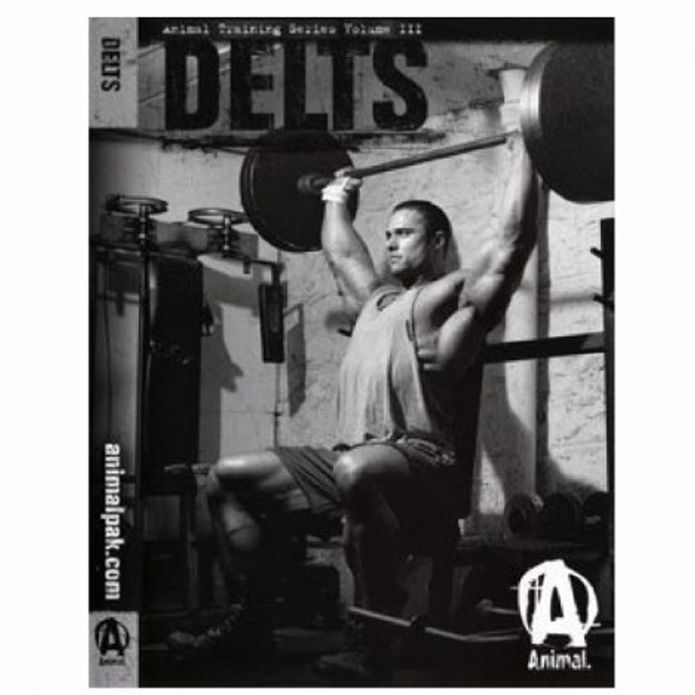 DVD Animal Training Delts ( Ombro ) - Universal Nutrition