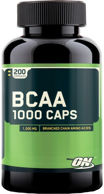 BCAA 1000 - Optimum Nutrition (200 cápsulas)