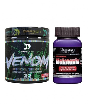 COMBO VENOM + MELATONINA ULTIMATE NUTRITION