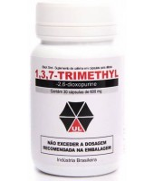 1,3,7-Trimethyl (Black Shot) (30 cápsulas) - Umbrella Labs