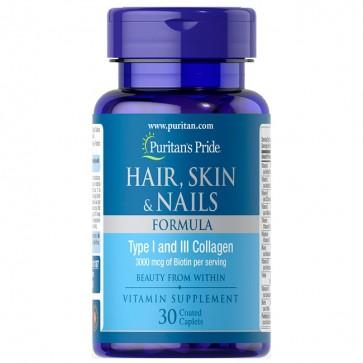 Hair, Skin & Nails (30 caps) - Puritan's Pride