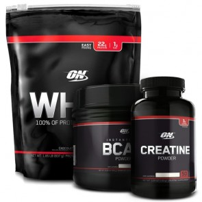 Combo On Whey 27 Servings + Creatina Black Line 150g + BCAA Black Line 300g - Optimum Nutrition