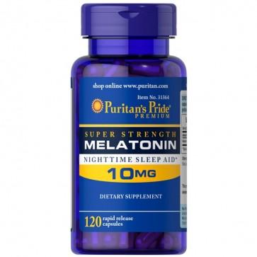 Melatonina 10mg (120 cápsulas) - Puritan's Pride