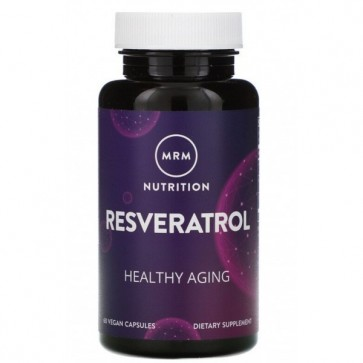Resveratrol 100mg (60 cápsulas) - MRM MRM