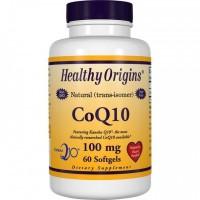 Coq10 100mg 60 caps HEALTHY Origins