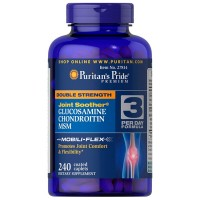 Double Strength Glucosamine Chondroitin MSM (240caps) - Puritan's Pride