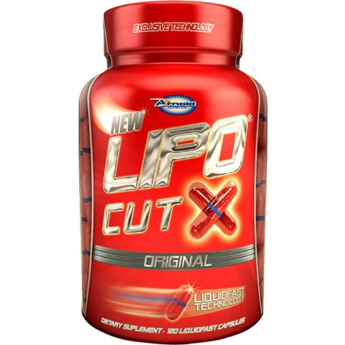 Lipo Cut X ( 120 cápsulas ) - Arnold Nutrition
