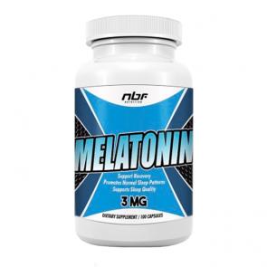 Melatonina 3mg - 100 Caps - NBF Nutrition