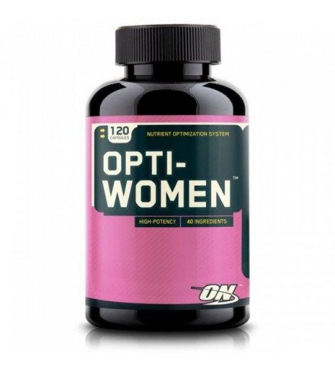Opti-Women Optimum Nutrition 120 Capsulas