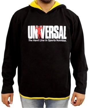 Agasalho Moleton Preto - Universal