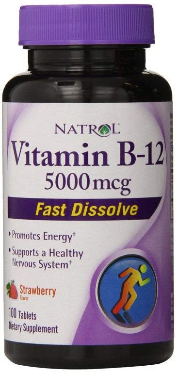 Vitamina B12 (100 tabletes) [Sublingual] - Natrol