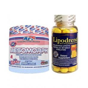 COMBO LIPODRENE + MESOMORPH