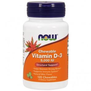 Vitamina D-3 10000IU (120 softgels) - Now Foods