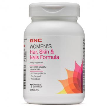 Women's Hair, Skin & Nails Formula (120 tabs) - GNC GNC