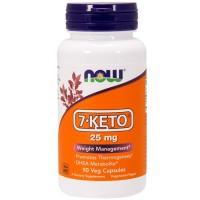 7-KETO 25mg - Now Foods (90 cápsulas)