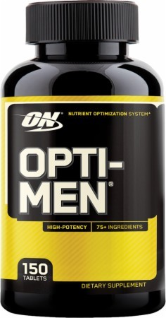 Opti-Men optimum Nutrition 150 capsulas