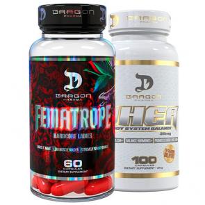 Combo: Fematrope + DHEA 25mg - Dragon Pharma