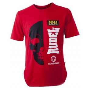 Camiseta Skull Vermelha Rubi