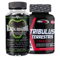 Combo: Tribulus Terrestris - Pro Size + Black Mamba - Innovative