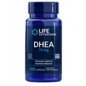 DHEA 15mg (100 cápsulas) - Life Extension