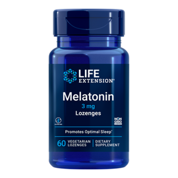 Melatonina 3mg (60 veg) LIFE Extension