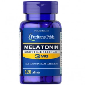 Melatonina 3mg (120 tabletes) - Puritan's Pride