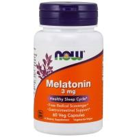 Melatonina 3mg (60 caps) - Now Foods