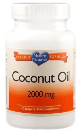 Óleo de Coco - 2000mg p/ dose