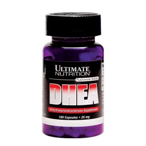 DHEA 25mg - Ultimate Nutrition (100 cápsulas)